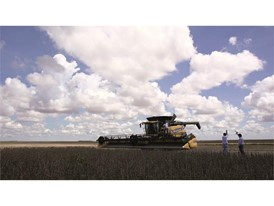 CR8.90 soybean harvesting world record: 439.730 tonnes in 8 hours