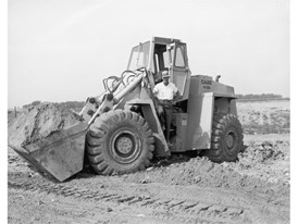 Historical CASE W26 Wheel Loader
