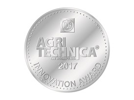 New Holland wins Silver Medal at the Agritechnica Innovation Award 2017 for the pro-active and automatic combine setting system, an industry first