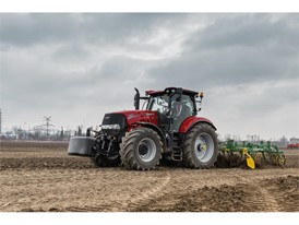 Puma 220 at Case IH training camp, Slovakia