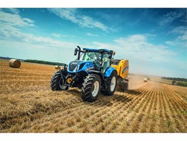 New Holland will display the T6 in Dynamic Command™ guise at FTMTA