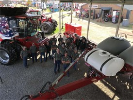 Case IH team with Axial Flow and new 2000 Series Early Riser planter