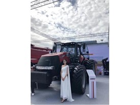 Case IH launched the new Magnum 3404 tractor, extending its Magnum family in China