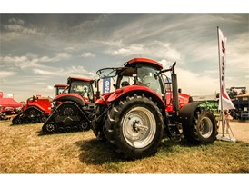 Case IH presented the first Puma CVT series for the Russian market at the Golden Niva exhibition 2018