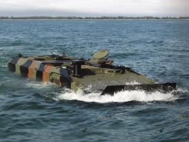 Iveco Defence Vehicles 8x8 amphibious armored platform design