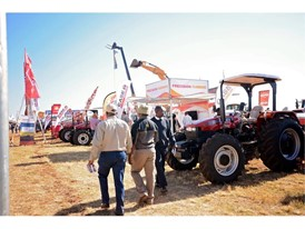 Case IH at the ADMA show in Zimbabwe
