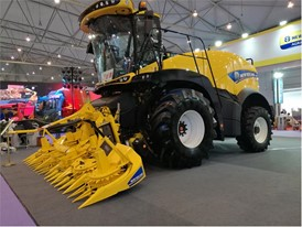 New Holland Agriculture's FR500 forage harvester expected to attract much attention