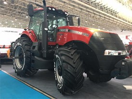 Case IH Magnum 3154 on display at CIAME 2017