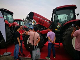 The Case IH Puma 2304 in Inner Mongolia Expo