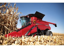 Axial-Flow 9250 Harvesting Corn