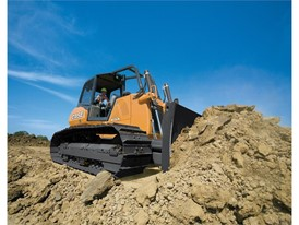 CASE Crawler Dozers at work