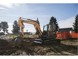 CASE Excavator at work