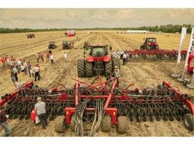 Case IH Field Day in Rostov, Russia