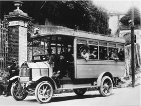 В 1907 году Fiat выпустил свой первый автобус