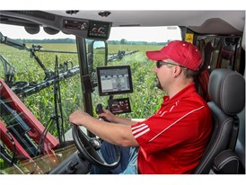Miller Nitro high-clearance sprayer cabs feature many amenities to enhance operator comfort