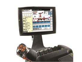 The intuitive AFS Soil Command user interface on the AFS Pro 700
