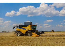 New Holland organized an intensive training camp in the Voronezh region of Russia