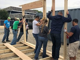 CNH Industrial Joins DuPage Habitat for Humanity for 2018 Executive Build 2