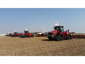 Case IH Annual Farmers Day in South Africa, displays its product range
