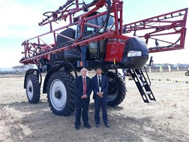 Ian Allen, General Manager Agrimechanisation TTEA & Kentero Yoneda, Divisional General Manager Agricultural Department