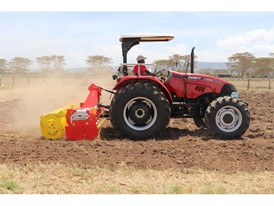 Puma 185 ROPS tractor at the Farm Tech Expo