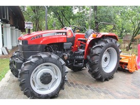 The Case IH JX45T in Sri Lanka