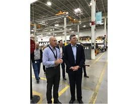U.S. Representative Darin LaHood tours CNH Industrial's Case IH facility