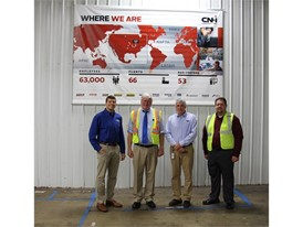 U.S. Representative Glenn Grothman visits CNH Industrial's New Holland facility