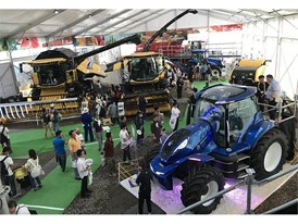 New Holland Agriculture presents its high-tech vision for the sustainable future of farming at the Obihiro International Agricultural Machinery Show
