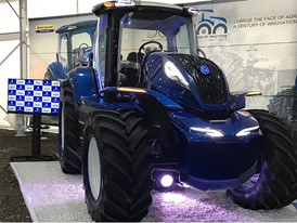 New Holland at the International Agricultural Machinery Show in Obihiro, Japan