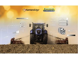 New Holland customers will benefit from the advantages of digitial solutions from Farmers Edge