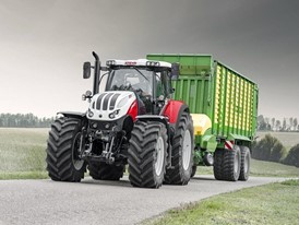 "STEYR TERRUS CVT STAGE V: TRACTOR DRIVING HAS NEVER BEEN SO ""CLEAN"""