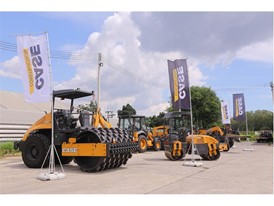 CASE Construction Equipment event in Rayong, Thailand