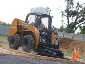 CASE Construction Equipment Skid Steer Loaders event in Rayong, Thailand