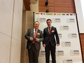 Case IH won the bronze medal a the SIMA Innovation award