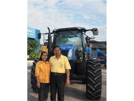 Mr Boonchuay and Mrs Sakorn Sanguanphong, Sanguanpong Tractor Mittaparp Co. Ltd.'s Owners