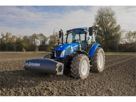 A New Holland tractor with SoilXplorer: real-time soil sensing systems, automatic implement working parameter adjustment