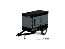 Winco RP 60 mobile generator equipped with FPT Industrial's F34 47 kWe Tier 4 Final engine