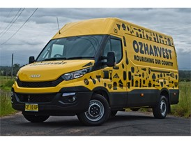 CNH Industrial brand IVECO is a strong supporter of OzHarvest and of its work aimed at striving to eliminate food waste