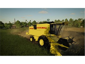 New Holland TX32 historic combine in Farming Simulator 19