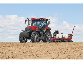 Maxxum 145 and Early Riser 1225 rigid trailing planter