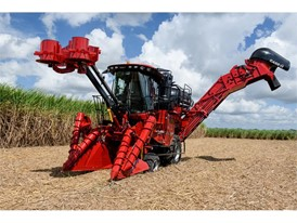 Case IH Austoft 8010 sugarcane harvester