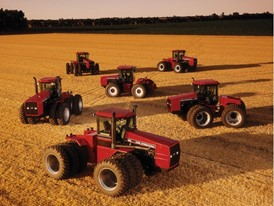 Steiger historical tractors