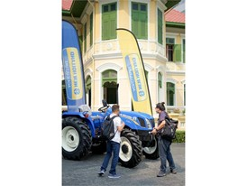 New Holland TT3.50 tractor launch event in Bangkok, Thailand