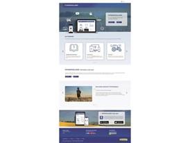 MyNew Holland landing page