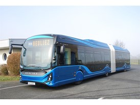 Heuliez GX437 electric citybuses to be used in the Groningen and Drenthe regions of The Netherlands