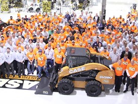 CASE Celebrates 50 Years of Skid Steer Manufacturing 2