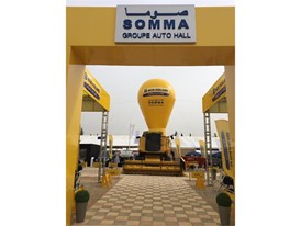 New Holland Agriculture's importer, S.O.M.M.A., part of Auto Hall Group, presents its machinery at SIAM 2019