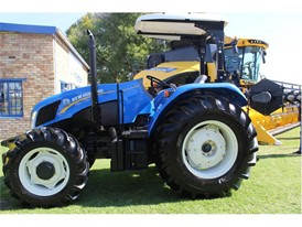 New Holland at Nampo Harvest Day 2019, South Africa