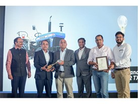 New Holland Agriculture wins three awards at the first edition of the Tractor of the Year Award (ITOTY) 2019